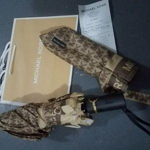new $125 umbrella michael kors Authentic automatic